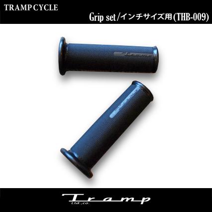 TRAMP ギフ_包装 CYCLE トランプサイクル T-Grip set グリップ 1インチサイズバー用 スポーツスター HARLEY ハンドルバー DAVIDSON ハーレーダビッドソン XL THB-009 ギフ_包装