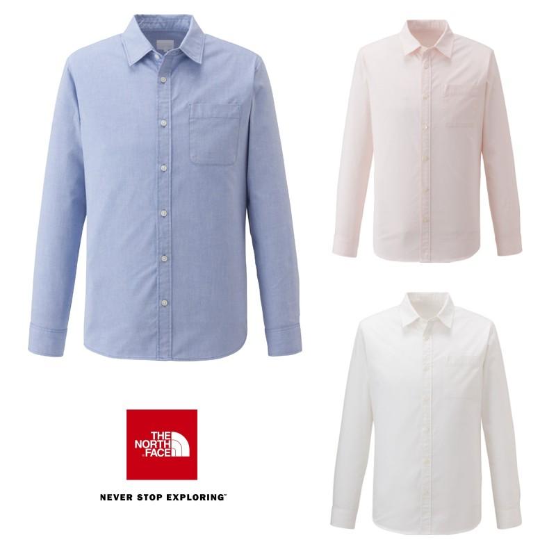 THE NORTH FACE L/S ALPHADRY Oxford Shirt NR11542 ロングスリーブ アルファドライ オックスフォードシャツ(メンズ) ノースフェイス