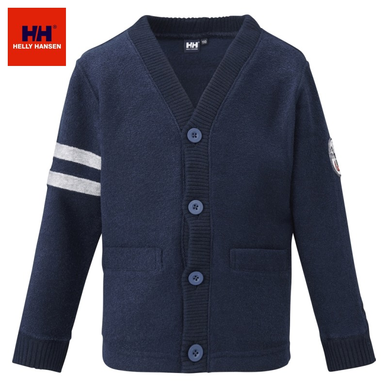 HELLY HANSEN K Minipile Cardigan(Kid's) HJ31562 ミニパイルカーディガン(キッズ) ヘリーハンセン