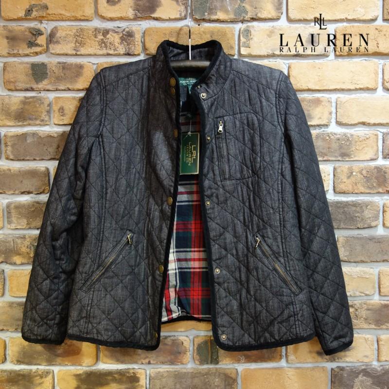 LRL Lauren Jeans Co コットンキルティングジャケット(レディース) Ralph Lauren ラルフローレン