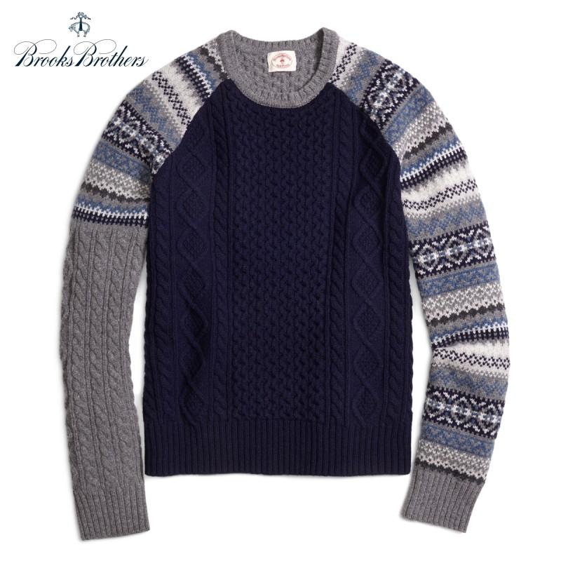 Brooks Brothers Fun Crewneck Sweater ブルックスブラザーズ ウールセーター