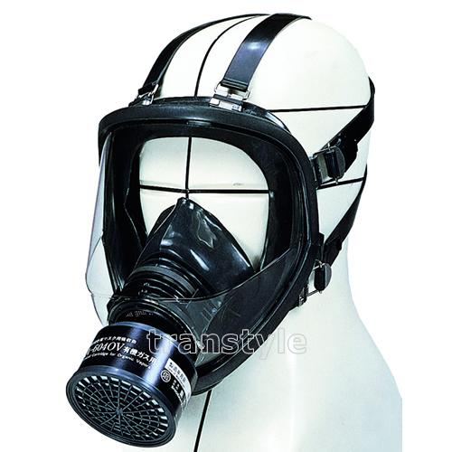 【送料無料】シゲマツ/重松 防毒マスク GM164 Mサイズ 【ガスマスク/作業/工事】