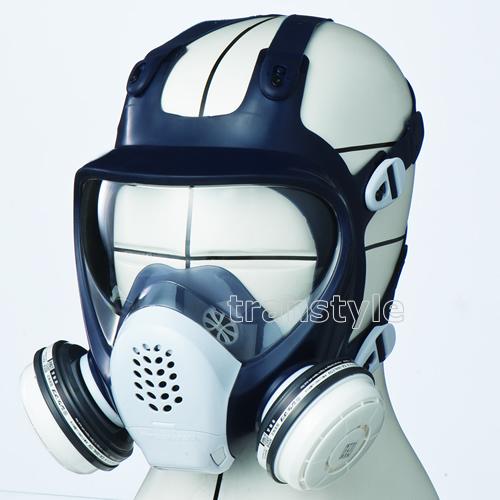 【送料無料】シゲマツ/重松 防毒マスク GM185-1 Mサイズ【ガスマスク/作業/工事】