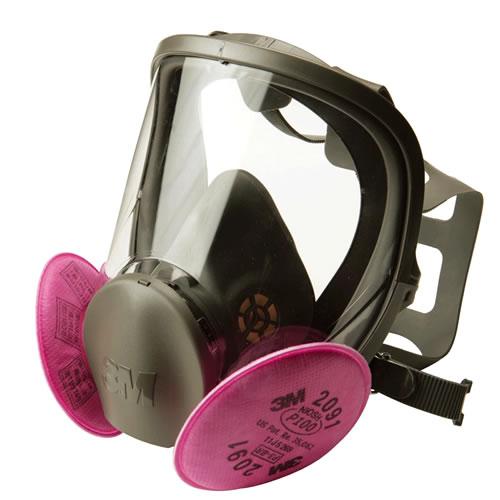 【送料無料】 3M/スリーエム防じんマスク 取替え式防塵マスク 6000F/2091-RL3 【作業/工事/医療用/粉塵】