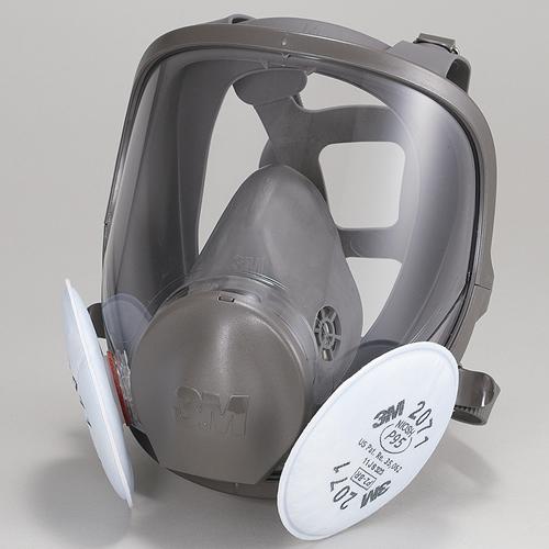 【送料無料】 3M/スリーエム防じんマスク 取替え式防塵マスク 6000F/2071-RL2 【作業/工事/医療用/粉塵】