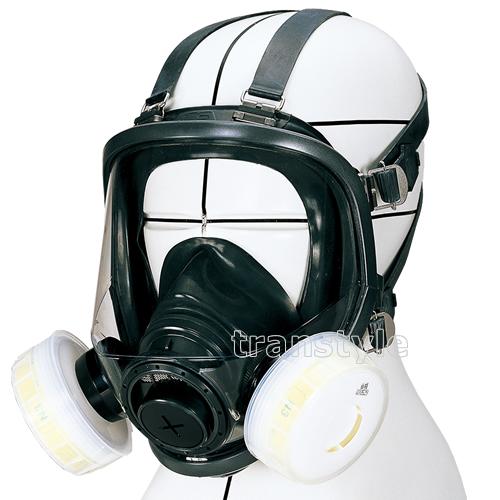 【送料無料】 シゲマツ/重松防じんマスク 取替え式防塵マスク DR165N3-RL3 Mサイズ 【作業/工事/医療用/粉塵】