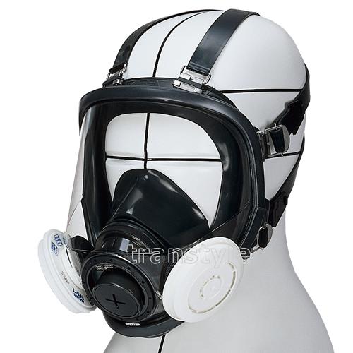 【送料無料】 シゲマツ/重松防じんマスク 取替え式防塵マスク DR165L4N-RL3 Mサイズ 【作業/工事/医療用/粉塵】