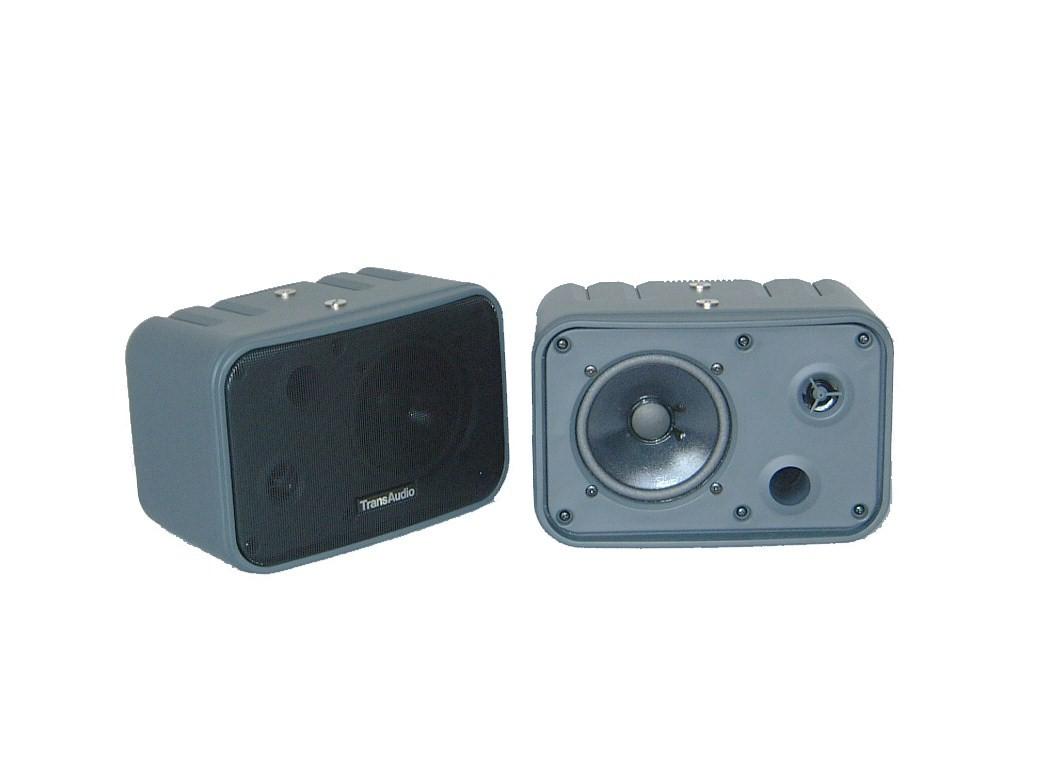 高音質カラオケスピーカー TR-M102(黒) 2本セット