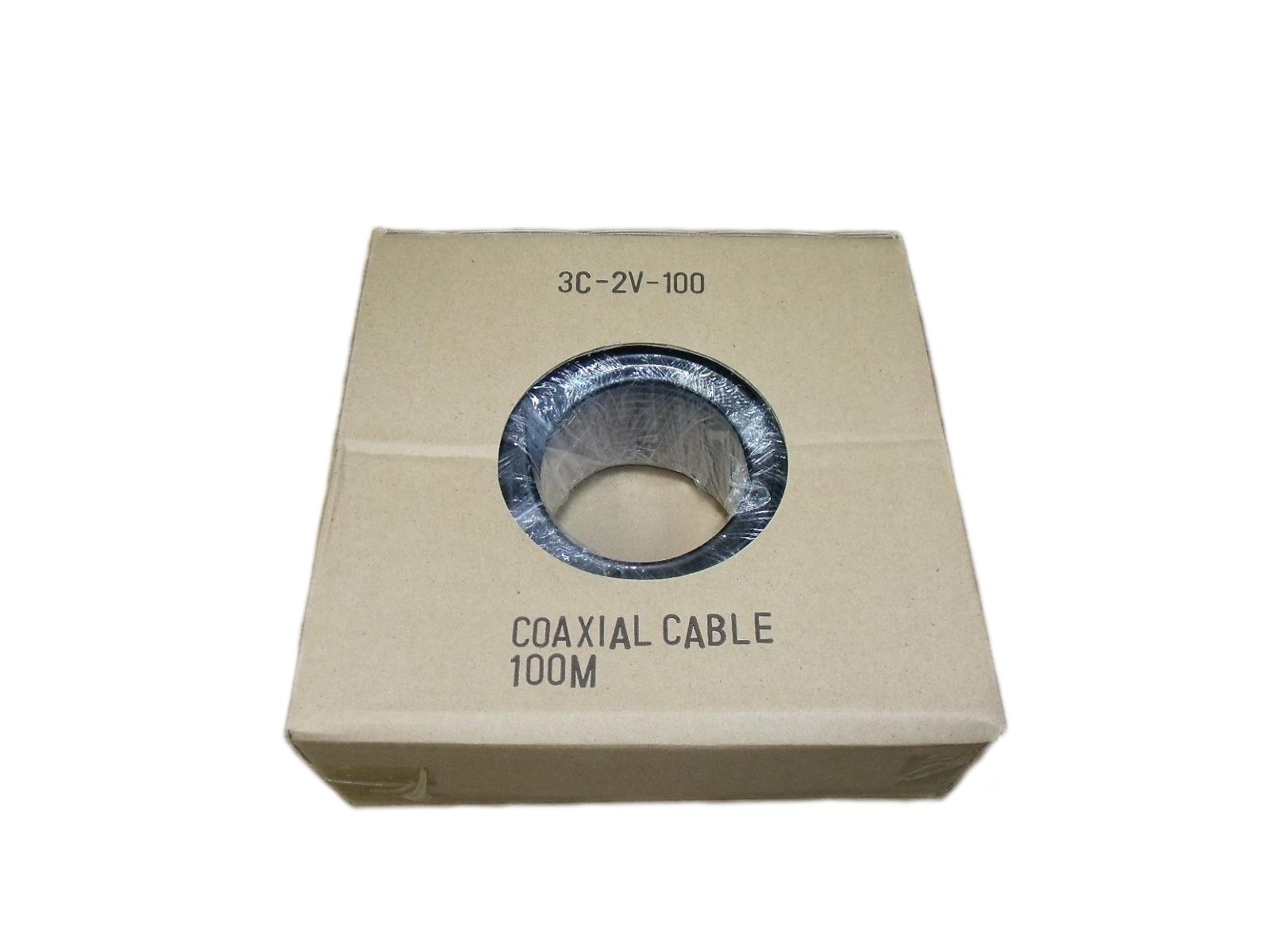 TVアンテナ用同軸ケーブル 3C-2V-100 黒色 倉 新作多数 中国製