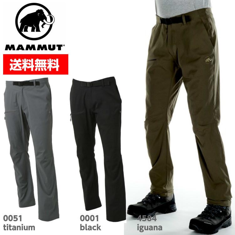 MAMMUT マムート 【2018年モデル】 アウトドア ボルダリングパンツ AEGILITY Slim Pants Men 1022-00270 ■アウトドア 登山 トレッキング クライミング キャンプ ハイキング
