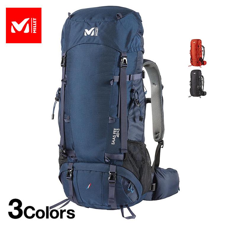 MILLET ミレー バックパック サース フェー MIS0638 SAAS FEE 40+5 40リットル ■アウトドア 登山 トレッキング