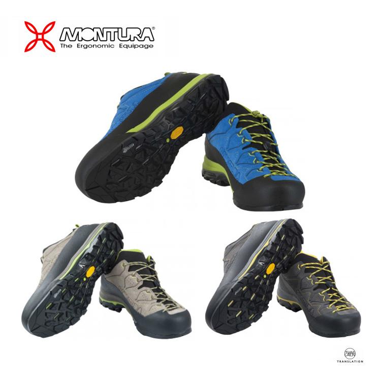 MONTURA モンチュラYARU GTX ヤルGTX S3GA00X 2640/3640/9272 ■登山靴 / アプローチ / イタリア / スエード / ローカット