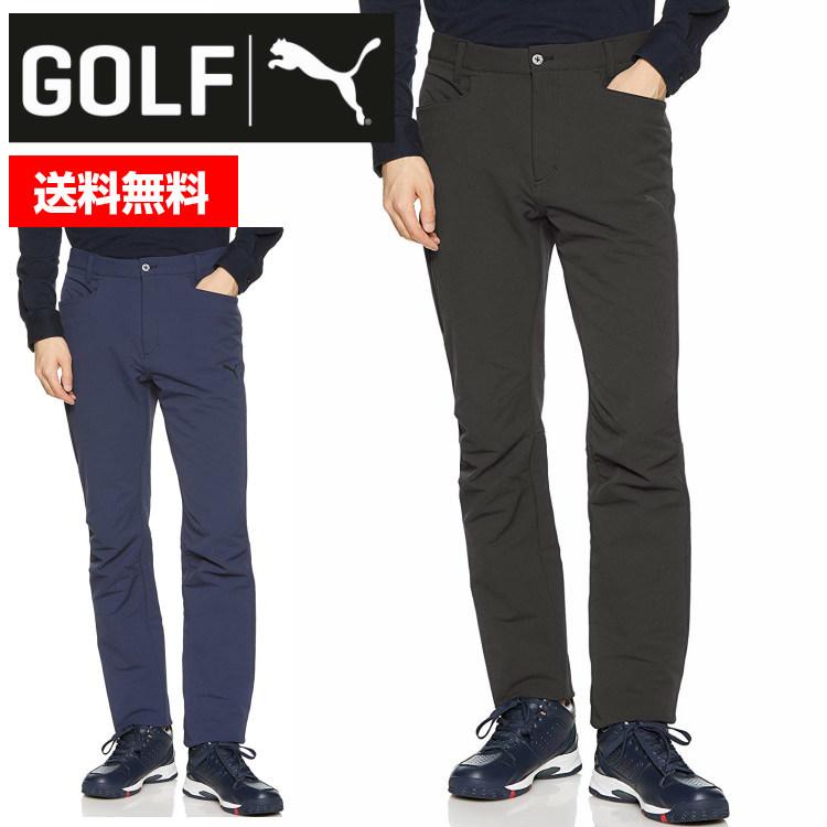 PUMA プーマゴルフ ゴルフ Zip 3D テーパード パンツ 923793 01 02 ■立体パターン ジップ テーパード シルエット 人気 黒 ネイビー 定番 おしゃれ