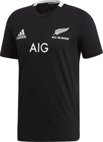 【adidas】アディダス EKX73-CW3135 オールブラックス 1ST レプリカTシャツ [BLK] ラグビーゲームシャツ/アメフトゲームシャツ  【RCP】
