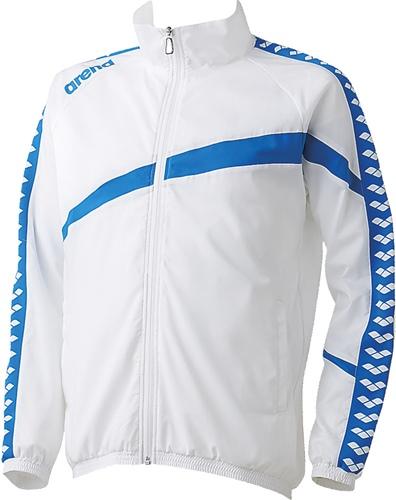 ■送料無料■【ARENA】アリーナ ARN6300-WHT ウィンドジャケット [ホワイト] 【水泳/トレーニング/練習着/ウィンドウェア/ウィンドブレーカー/長袖/男女兼用】