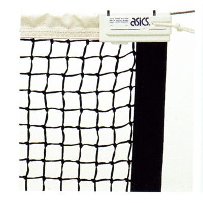 ■送料無料■▼asics▼アシックス 11116K-90 全天候硬式テニスネット(ブラック) [シリーズ:硬式テニスネット]年度:-