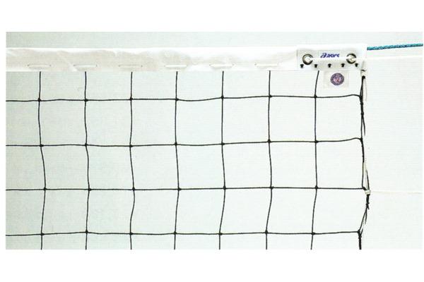 ■送料無料■▼asics▼アシックス 23260K 男子9人制バレーボールネット検定AA級 ※下部白帯なし※[シリーズ:バレーボールネット]
