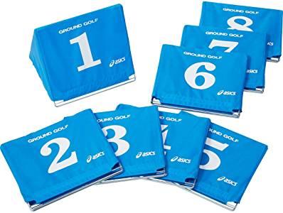 コース用品 スタート表示板 特価キャンペーン ■送料無料■ asics アシックス 3283A027-400 ブルー 大型スタート表示板セット hz 訳あり品送料無料 グラウンドゴルフ グランドゴルフ