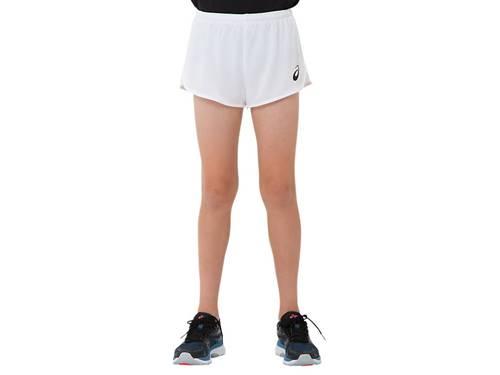 【asics】アシックス 2094A002-100 JR.ランニングパンツ [ホワイト] 【マラソン/ジョギング/陸上/スポーツウェア/ウエア/半ズボン/ハーフパンツ/ショートパンツ/ジュニア/子供用】 【RCP】