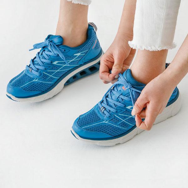 ■送料無料■【asics】アシックス商事 RL-9004-057 RAKUWALK(ラクウォーク)(レディス)[ライトブルー(LIGHT BLUE)] RL-9004 あなたのひざを快適に。 リフレクター/成型中敷き/2E/散歩/ランニング