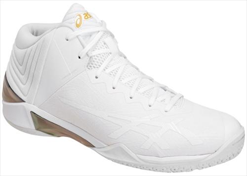 ▼asics▼アシックス TBF342-0101 GELBURST 22 [ホワイト×ホワイト][GELBURST 22/バスケットボール/バスケットボールシューズ][年度:18SS]