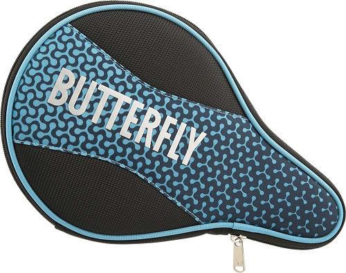 卓球 ラケット 卓球ラケット ケース 即納 あす楽 保証 Butterfly バタフライ バッグ ブルー メロワ 62820-177 卓球用ケース ラケットケース フルケース 卓球用品 ブランド買うならブランドオフ