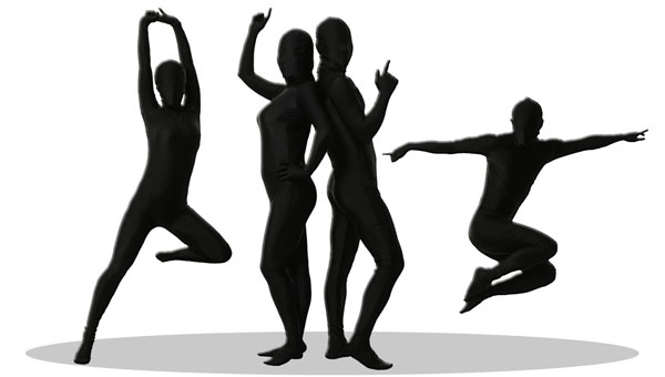 ◆【透明人間 パンテックス 黒 L】◆着るだけで世界が変わる!?新感覚の透明人間であなたもたちまちHEROに!!【smtb-u】【全身タイツ】【コスプレ用品】【仮装・変装コスチューム】【RCP】