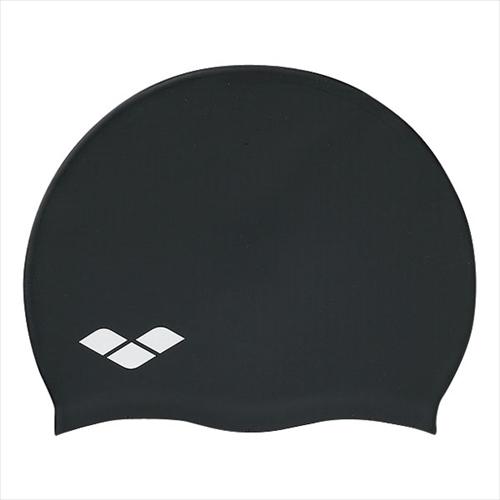 日本全国 送料無料 ARENA アリーナ FAR2901-BLK SILICONE CAP 超歓迎された 年度:14FW 帽子 水泳 ブラック