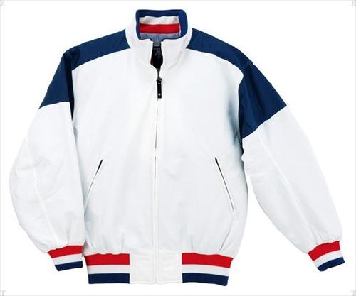 ■送料無料■【DESCENTE】デサント DR202-WNV グランドコート [ホワイト/ネイビー][野球・ソフトボール][グランドコート]年度:14FW