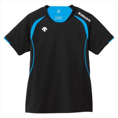DESCENTE デサント DSS5421W-BBL 最新アイテム 半袖ライトゲームシャツ WOMEN'S 店舗 バレーボール ゲームシャツ 年度:14FW パンツ