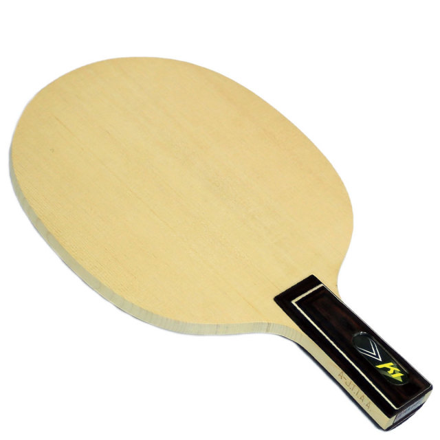 【akkadi】アカディ BR006-CHK-1 中国式【卓球用品】最高級木曽檜単板/中国式ペンホルダー/中ペン/卓球ラケット