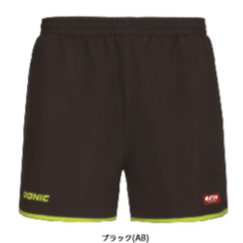 卓球 ユニフォーム ユニホーム 卓球ユニフォーム DONIC ドニック HL053-AB ショーツ 卓球用品 トレーニングパンツ AB ゲームパンツ ループ 時間指定不可 トレンド ブラック