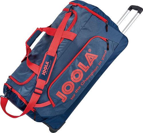 【JOOLA】ヨーラ 80135 ロールバッグ16 [ネイビー×レッド]【卓球用品】ケース/バッグ※小型宅配便発送不可