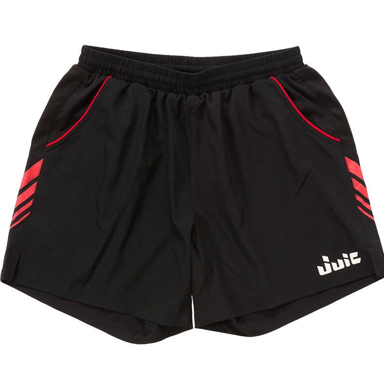 大幅にプライスダウン 卓球 ユニフォーム ユニホーム 卓球ユニフォーム JUIC ジュウィック 直営限定アウトレット パンツ ウェア ブラックレッド 卓球用品 5589-BR フレックス