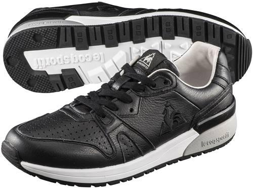 ■送料無料■【le coq sportif】ルコック QL1NJC03BK-F ブローニュ LE + ブラック 【マルチスポーツシューズ/マルチスポーツ靴/男女兼用】 年度:19FW