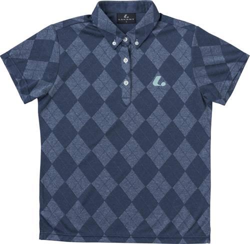 【LUCENT】ルーセント XLP4996 レディース ゲームシャツ ネイビー [ネイビー] 【テニス/ゲームシャツ】 年度:19SS