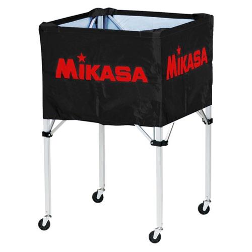 ■送料無料■【MIKASA】ミカサ BCSPH-BK ワンタッチ式ボールカゴ(フレーム・幕体・キャリーケース3点セット) [ブラック][学校機器][グッズ・その他]年度:14