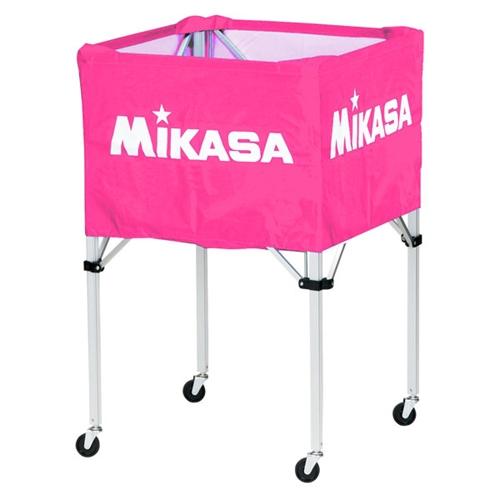 ■送料無料■【MIKASA】ミカサ BCSPH-P ワンタッチ式ボールカゴ(フレーム・幕体・キャリーケース3点セット) [ピンク][学校機器][グッズ・その他]年度:14
