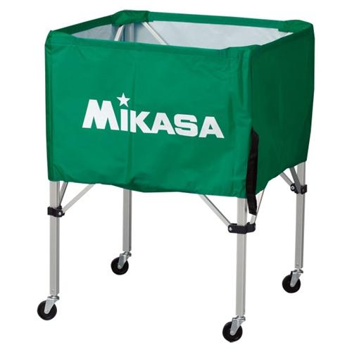 ■送料無料■【MIKASA】ミカサ BCSPS-G ワンタッチ式ボールカゴ(フレーム・幕体・キャリーケース3点セット) [グリーン][学校機器][グッズ・その他]年度:14