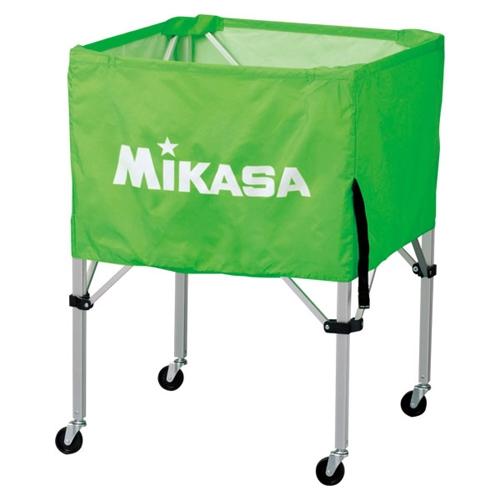 ■送料無料■【MIKASA】ミカサ BCSPS-LG ワンタッチ式ボールカゴ(フレーム・幕体・キャリーケース3点セット) [ライトグリーン][学校機器][グッズ・その他]年度:14