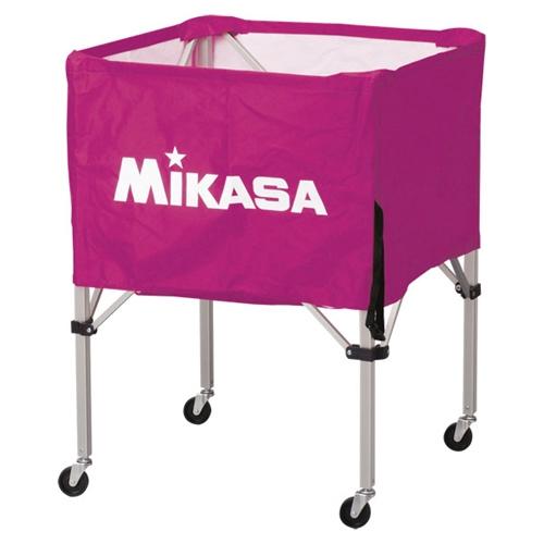 ■送料無料■【MIKASA】ミカサ BCSPS-V ワンタッチ式ボールカゴ(フレーム・幕体・キャリーケース3点セット) [バイオレット][学校機器][グッズ・その他]年度:14