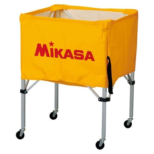 ■送料無料■【MIKASA】ミカサ BCSPS-Y ワンタッチ式ボールカゴ(フレーム・幕体・キャリーケース3点セット) [イエロー][学校機器][グッズ・その他]年度:14