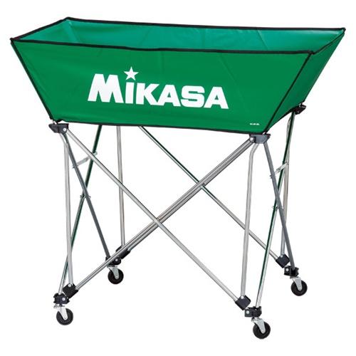 ■送料無料■【MIKASA】ミカサ BCSPWL-G 舟形ボールカゴ3点セット(フレーム・幕体・キャリーケース) [グリーン][学校機器][グッズ・その他]年度:14