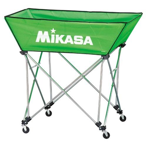 ■送料無料■【MIKASA】ミカサ BCSPWL-LG 舟形ボールカゴ3点セット(フレーム・幕体・キャリーケース) [ライトグリーン][学校機器][グッズ・その他]年度:14