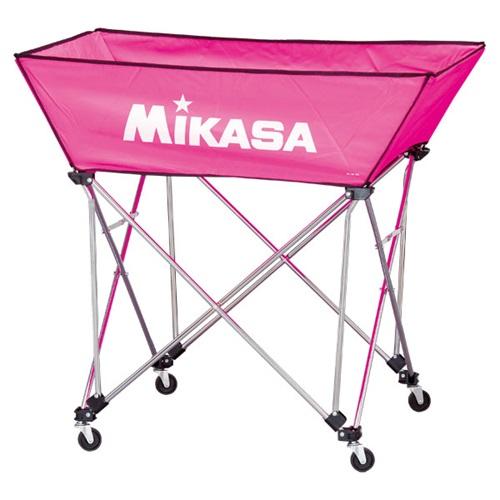 ■送料無料■【MIKASA】ミカサ BCSPWL-P 舟形ボールカゴ3点セット(フレーム・幕体・キャリーケース) [ピンク][学校機器][グッズ・その他]年度:14