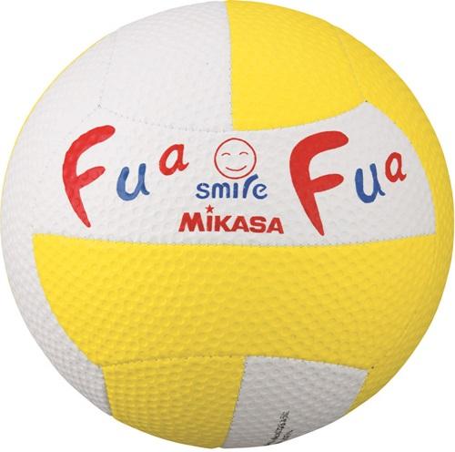 【MIKASA】ミカサFFD2WY ふあふあドッジ2号縫い スマイルドッジ 縫い 約150g WY [黄/青][スマイルドッヂ ドッヂボール]【RCP】