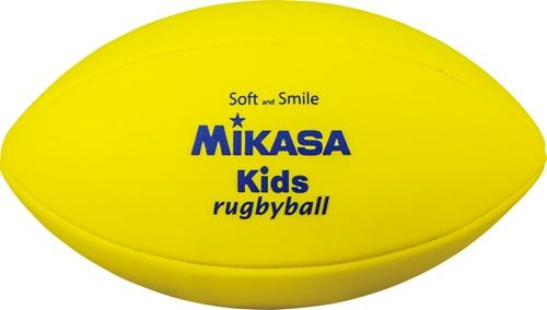 ボール MIKASA ミカサKRY スマイル 《週末限定タイムセール》 スマイルラグビー ラグビーボール 超美品再入荷品質至上 黄