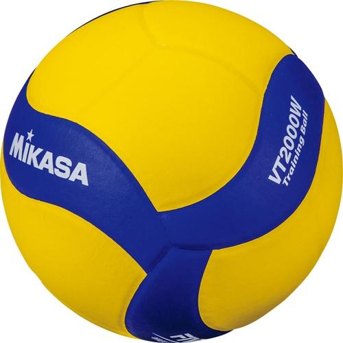 ?送料無料?【MIKASA】ミカサVT2000W トレーニングボール5号 バレー5 トレーニング2kg [黄/青][バレーボール]