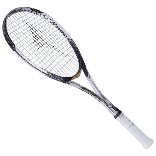 ■送料無料■◆MIZUNO◆ミズノ 63JTN740-03DI-Z AERO(ディーアイゼットエアロ)[ソリッドモノトーン×ゴールド]テニス/テニスラケット/ソフトテニス/ラケット/フレームのみ/フレーム
