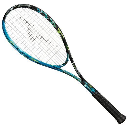 ■送料無料■◆MIZUNO◆ミズノ 63JTN835-21XYST T-05(ジストティー05)[ソリッドブラック×スカイブルー]テニス/テニスラケット/ソフトテニス/ラケット/フレームのみ/フレーム